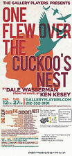 ONE FLEW OVER THE CUCKOOS NEST A PLAY BY DALE WASSERMAN  ADVERTISING  POSTCARD