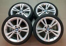 Jantes alliage BMW avec TPMS et pneus hiver pirelli