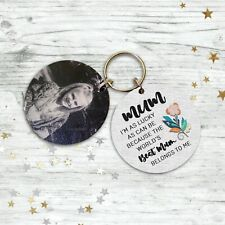 Personalised Mothers Day Gifts For Mum Mummy Mum Birthday Christmas Keyring Love