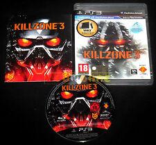 KILLZONE 3  Ps3 Versione Ufficiale Italiana 1ª Edizione ••••• COMPLETO
