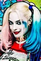 SUICIDE SQUAD MOVIE POSTER DS 27x40 One Sheet MARGOT ROBBIE WILL SMITH 2016 Film