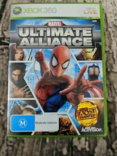 Marvel: Ultimate Alliance (Microsoft Xbox360, 2006 PAL ) -  Gently used