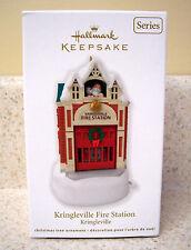 Hallmark 2012 Kringleville Fire Station, 3rd in Kringleville Series  NIB