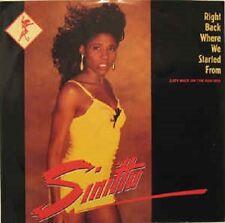 "Sinitta - Right back where we started from, 12"" Maxi-Single, Vinyl"