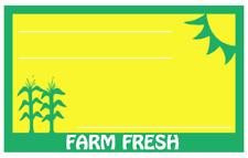 Farm Fresh Display Sale Price Signs 50pcs 11 X 14