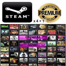 4 Random Premium Steam Game Keys +1 BONUS -GAMER BUNDLE-