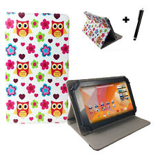 10.1 In Housse pour Tablette-Acer Iconia Tab a500 sac-hibou amour