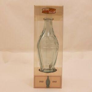 COCA-COLA Commemorative 1915 Glass Bottle Vintage 2000 Reproduction