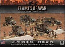 Flames of War World War II Wargame - US Armored Rifle Platoon