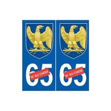 Napoléon 1er I sticker numéro au choix autocollant plaque auto logo 2 arrondis