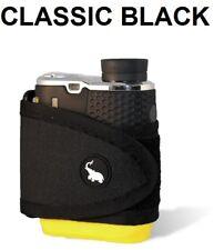 Monument Golf 1002BK Stick It Classic Series Magnetic Rangefinder Strap Black