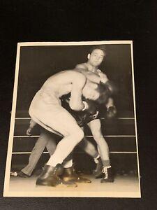 Stunningly Clean Original 1936 Fred Apostoli Type 1 Boxing Photo