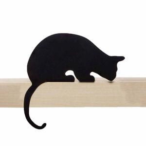 ARTORI Design Cats' Meow Sherlock Cat Statue Figurine Metal Silhouette Décor