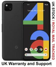 "GOOGLE Pixel 4a 128GB 5.8"" Unlocked  Android 10 Just Black UK Version"