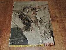 Ekran 14/1958 polish magazine Marion Michel, Antonella Lualdi, Meg Randall