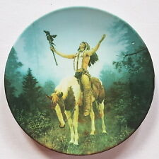1997 Hamilton Collection Deliverance Mystic Warriors Chuck Ren DECORATIVE PLATE