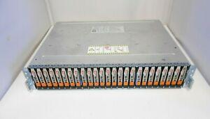 EMC SAE VNX VNX6GSDAE25 25 x 600gb 10K 2.5'' SAS  Hard drive Expansion JBOD