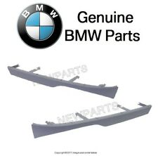 NEW BMW E46 325i 330i Pair Set of Two Lower Covering Trims Under Left Headlight