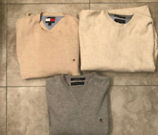 Lot Of 3 Vintage Tommy Hilfiger Mens Sweaters Size Large