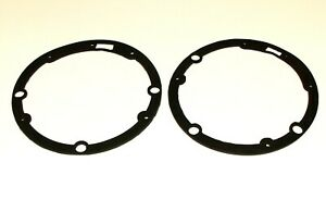 PAIR OF HEADLAMP TO BODY RUBBER SEALS MG MAGNETTE ZA & ZB