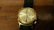 Vintage Parker Automatic Men's Date Watch, 17 Jewels, Buler Watch Co., Brevets