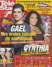 Tele Star N° 1573 Du 20/11/2006 - Star Ac'- Gael - A. Laroche-Joubert - B.Spears