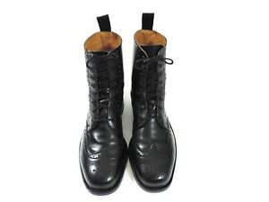 Sanders Mens Boots Shoes Brogues UK 8 US 9 EU 42 G Hand Made in England