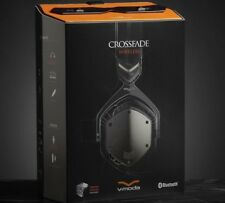 V-MODA Crossfade Wireless Bluetooth Over-Ear 3D Headphone - Gunmetal Black ✔NEW