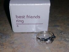 Vintage Jewelry Ring AVON BEST FRIENDS SIZE 6 WITH ORIGINAL BOX