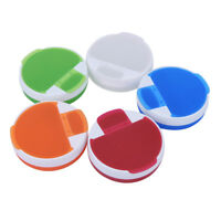 Travel 4 Compartment Dispenser Case Pill Box Medicine Tablet Holder Organizer~QA