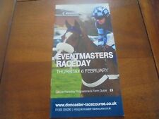 DONCASTER RACE CARD 6TH FEBRUARY, 2014 - ROCK ON RUBY WINS HIS 2ND CHASE START