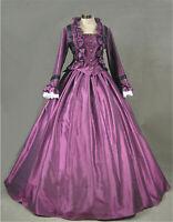 Gothic Punk Lolita Victorian Party Civil War Party Dress Costume Halloween
