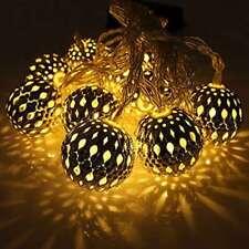 Set of 10 1m Ball String Lanterns LED Fairy Lights T2Q5