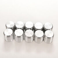 10x Aluminum Knobs Rotary Switch Potentiometer Volume Control Pointer Hole YN