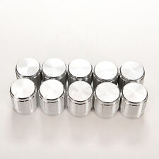 10XAluminum Knobs Rotary Switch Potentiometer Volume Control Pointer Hole 6RSPM