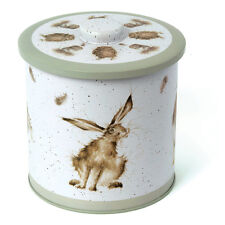 Wrendale Designs Biscuit Barrel storage tin Hare Duck Owl Design NEW