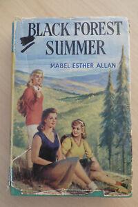 Mabel Esther Allan Black Forest Summer HC 1st Edition Children's Press 1957 Rare