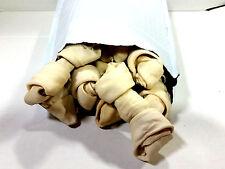 "Buffalo Rawhide 4-5"" Mini Bones  | 9 CT. | 100% Natural Dog Chews"