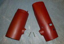 OEM Ford Ranger / Bronco II Steering Column Cover (standard), RED , 1983 -1988