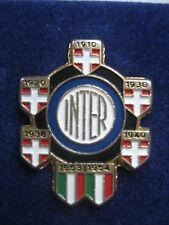 """INTER FC PINS vintage """" multiplo 07 scudetti"""" clips (bottone)"""
