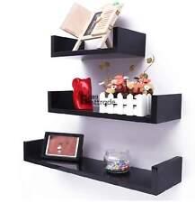 3PC Floating Wall Shelf Display Shelves Corner Storage Home Decor Storage