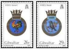 Timbres Blasons Gibraltar 491/2 ** lot 22018