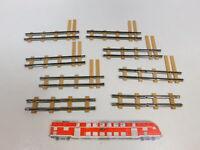 CD454-0,5# 8x Billerbahn Spur 0e Blech-Funktionsgleis: Knickgleis etc