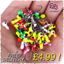 15 X ball Jig heads hooks savage weights cannibal shad coloured gear BEST SELLER