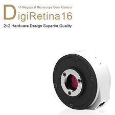 Tucsen USB3 DigiRetina 16 Megapixel Microscope Camera C Mount 16MP Colour
