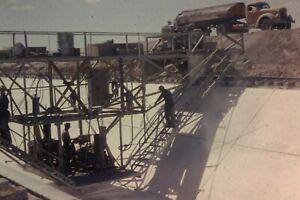 WELLTON MOHAWK CANAL CONSTRUCTION 35MM SLIDE (CIRCA 1950`S) LOT L111