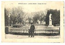CPA 26 Drôme Montélimar Jardin Public Statue de l'Air animé