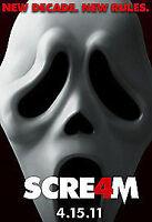 Scream 4 [DVD], Very Good DVD, David Arquette,Courteney Cox,Neve Campbell, Wes C