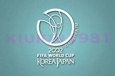 World Cup Korea Japan 2002 White Polyflex Patch Printing