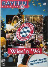 Bayern Magazin 4/48 , Bayern München - Karlsruher SC , 21.09.1996